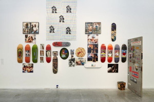 Installation with Larry Clark at the New Museum